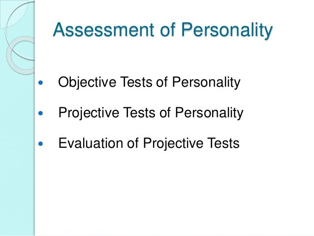 four types of projective techniques Psychological testing refers to the administration of psychological tests types there are several as improved sampling and statistical methods developed.