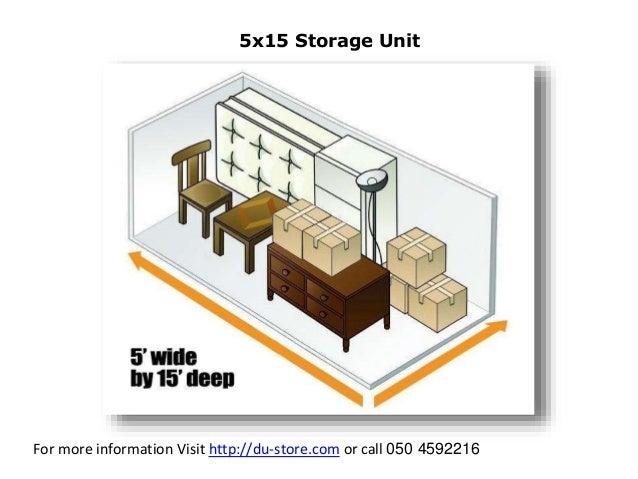 5x15 Storage Unit Dandk Organizer