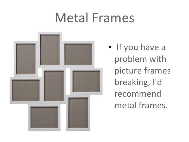 5 metal frames