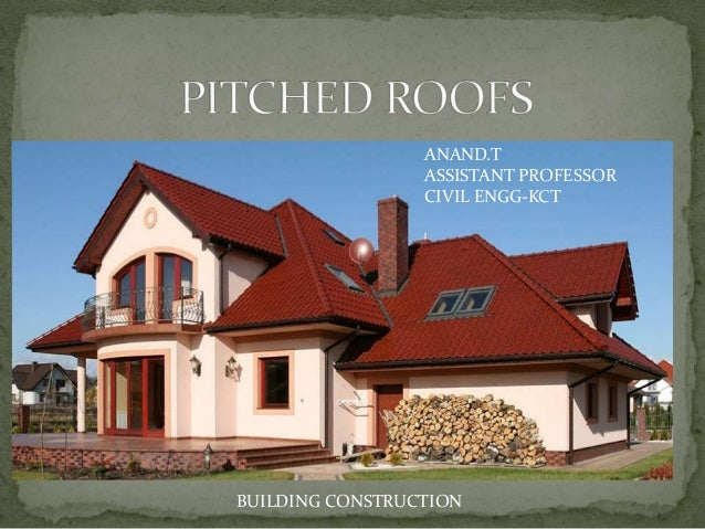Types Of Pitched Roofs