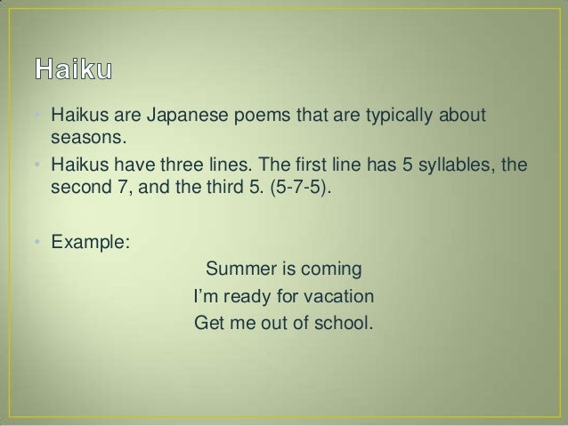 haiku poems about love 5 7 5 - photo #31