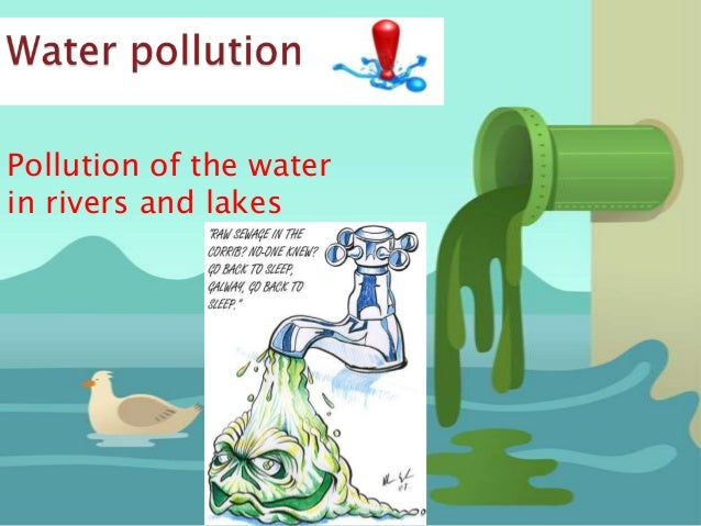persuasive essays on water pollution