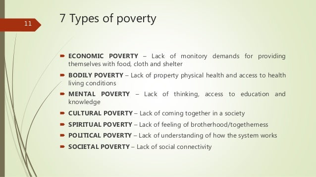 an introduction to the different kinds of poverty A summary of what sociologists do in 's introduction to sociology learn exactly what happened in this chapter, scene, or section of introduction to sociology and what it means perfect for acing essays, tests, and quizzes, as well as for writing lesson plans.