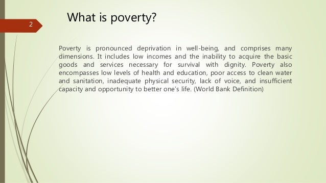 The actions of human beings to stop absolute poverty