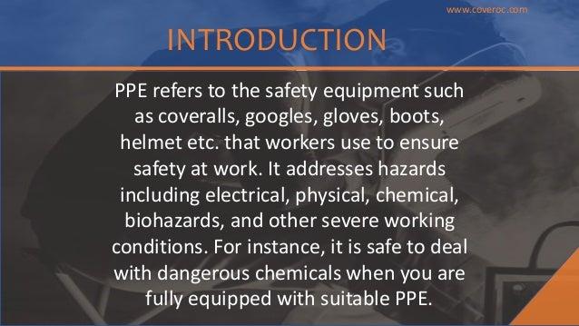 Types of ppe Slide 2