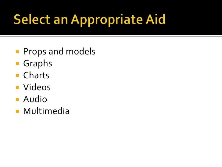 presentation aids