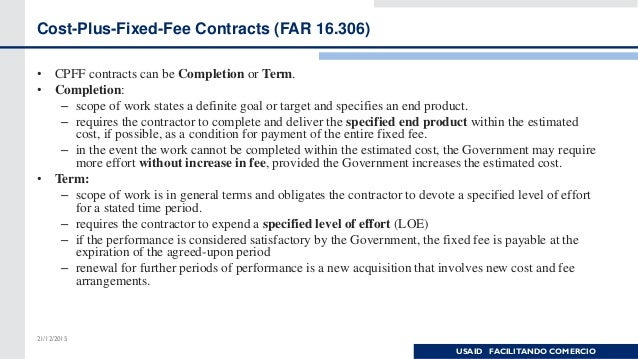 far cost sharing contracts Unallowable costs, far 312 the government as a matter of law and regulation will not reimburse contractors for certain types of costs it may incur these costs are generally referred to as unallowable costs also, the government will not knowingly negotiate a fixed price contract based on cost or pricing data including any unallowable costs.