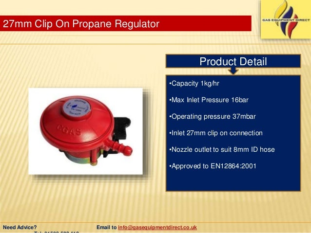 Types Of Natural Gas Regulators