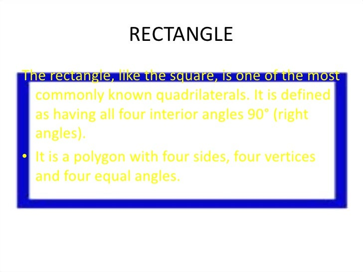 • Opposite sides are parallel and congruent• The diagonals bisect each other• The diagonals are congruent           D     ...