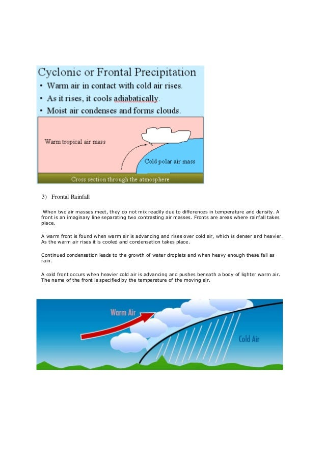 air masses meet happens every two