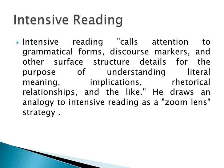 Types of reading skills - answers.com