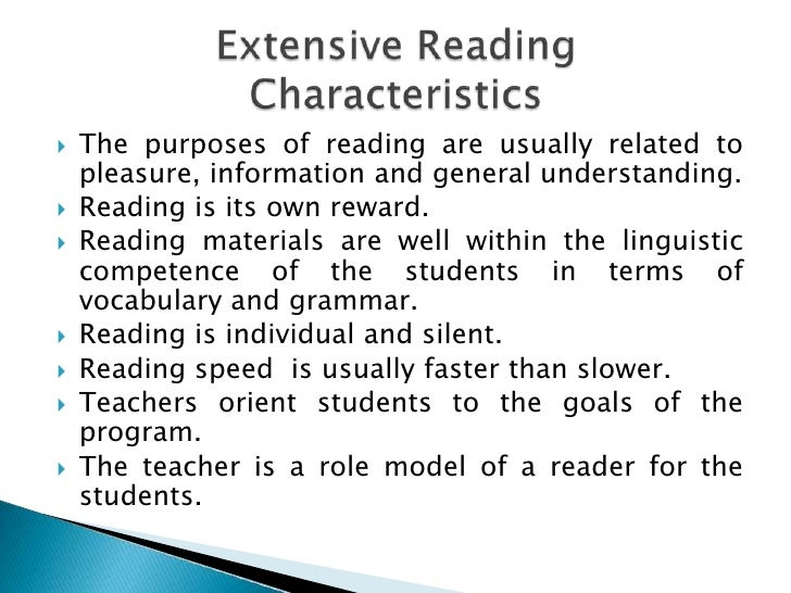 Answer What are the four types of reading skills?