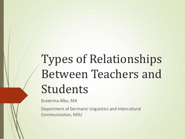 importance of student teacher relationships