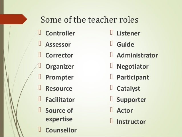 Types of relationships between teachers and students