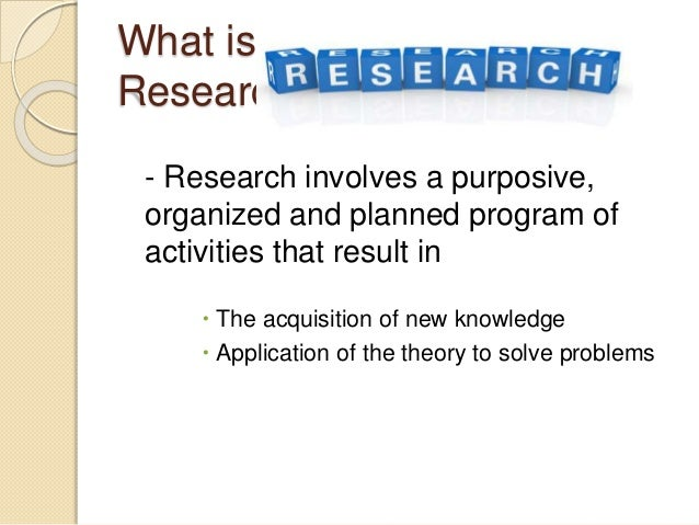 the characteristics of different kinds of research Types of research the different characteristics of research: research may  be applied or basic the purpose of applied research is to solve an immediate.