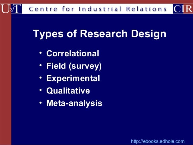 in comparison to experiments and surveys field research has types of research designs 818