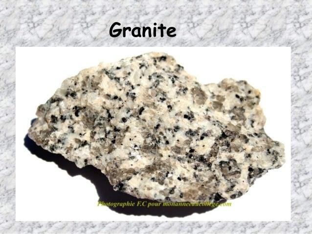 Types of rock gr. 6