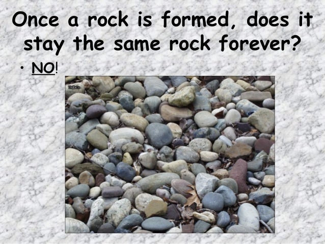 How many types of rocks are there?