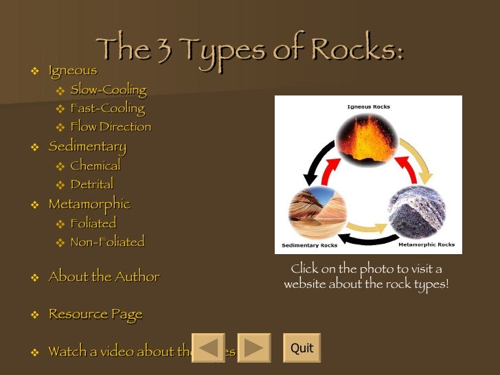 Types of rocks for Different types of soil and their uses