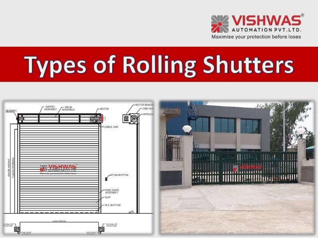 Types Of Rolling Shutter Industrial Rolling Shutters India