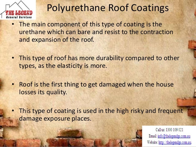 PVDF Roof Coatings • PVDF represents Poly vinylidene fluoride coating. • They can maintain reflection and they are made of...