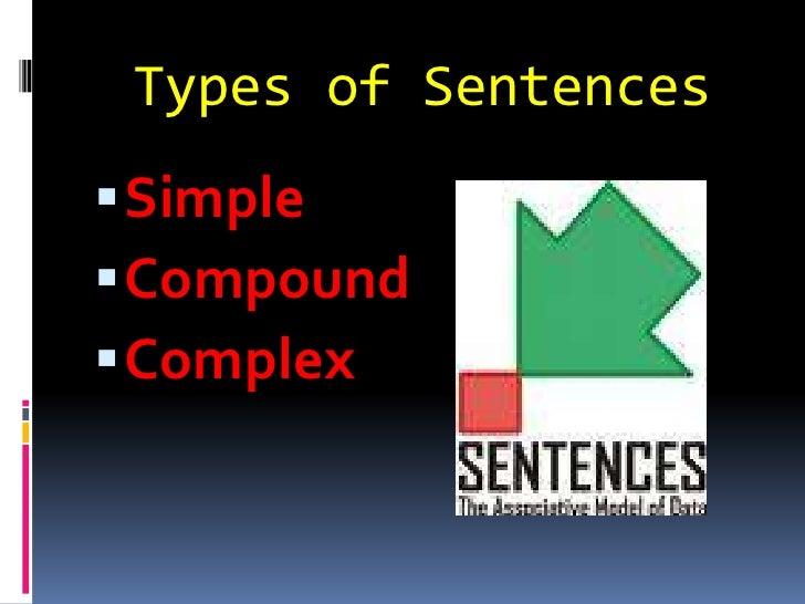 Types of Sentences<br />Simple<br />Compound<br />Complex<br />