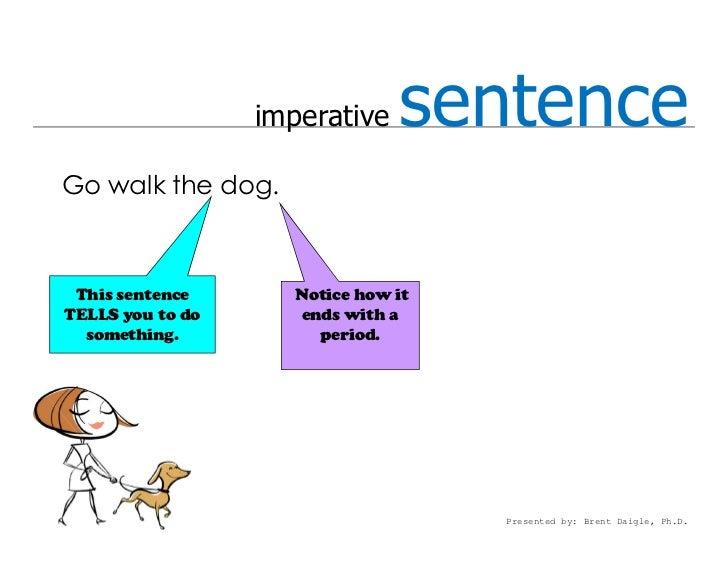 Types of sentences 15 imperative sentencego ccuart Gallery