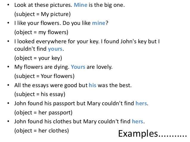 pronoun reference worksheet