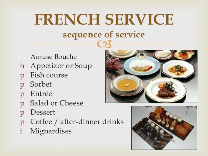 What Is Russian Service In Food And Beverage