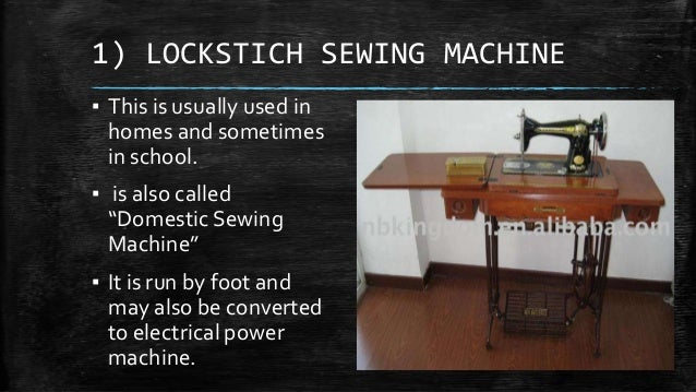 Types of sewing machines - Mechanical, Electronic, Computerized Different kinds of sewing machines with pictures