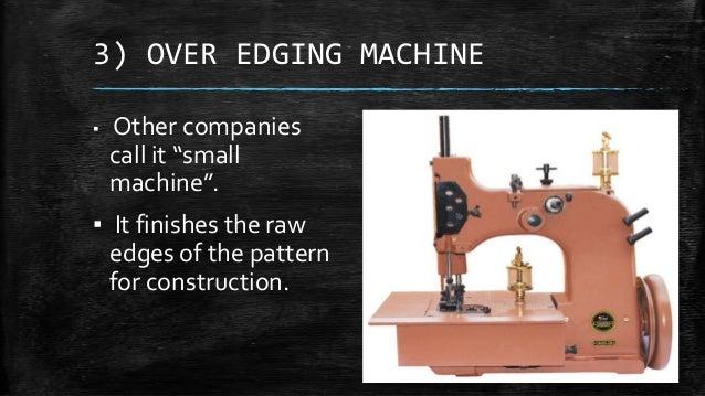 of machine