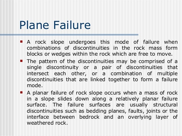 Types of slope failures Slide 3