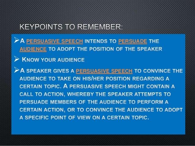 Types of speaking