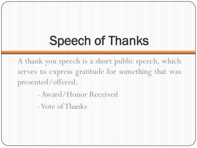 thank you speech for award - vixi.techscienergy.com