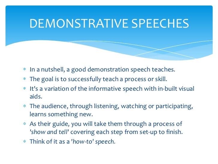 essay on speech critique