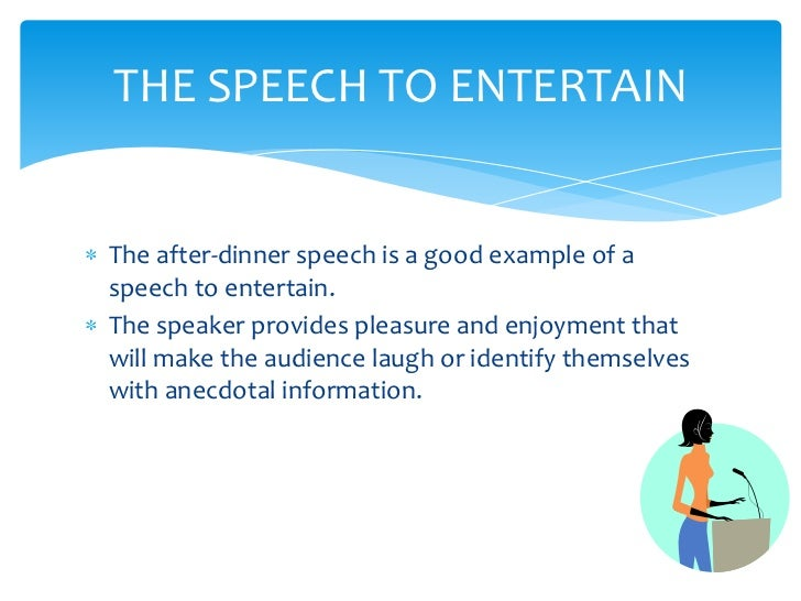 dinner speech In this article, we provide you ten after dinner speech examples to help or guide you as you create one as well as tips and a basic information about after dinner.