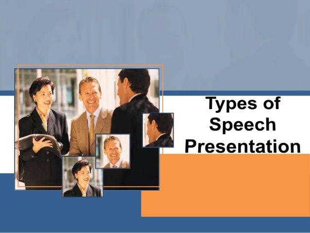 Informative and Persuasive Speech Slide 2