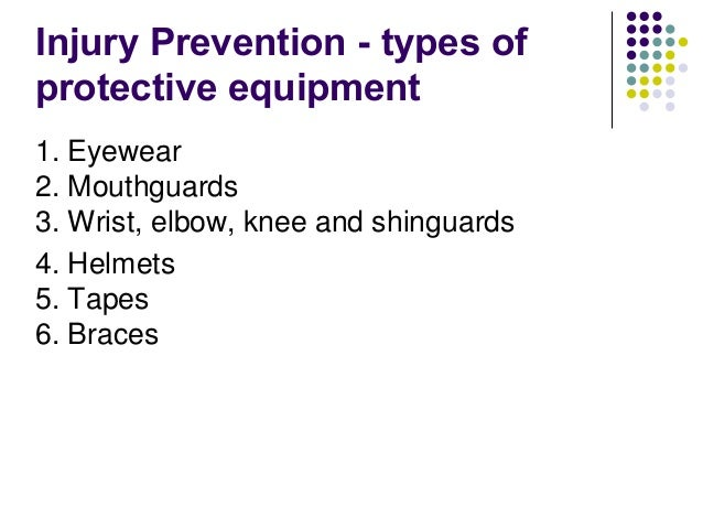 an examination of the different forms of injuries on sportsmen What is athletic training athletic training encompasses the prevention, examination athletic trainers provide medical services to all types of patients, not just athletes participating in sports.