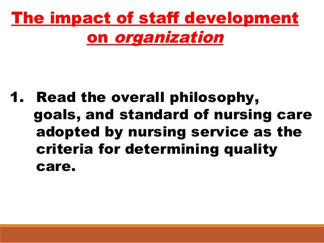 The influence of philosophy on knowledge development in nursing