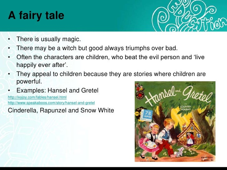 Types of stories for children