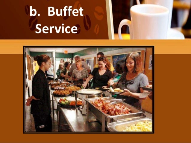 Types of table service