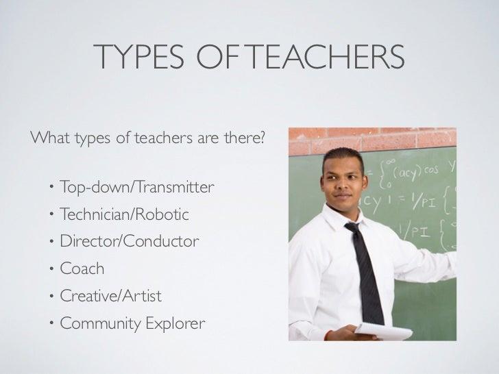 Types of Teachers