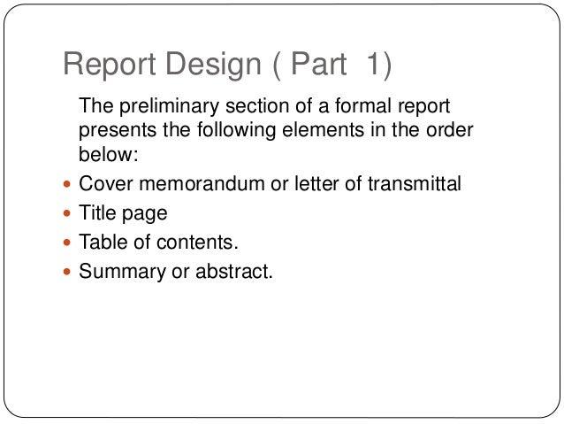 Types of technical reports report spiritdancerdesigns Image collections