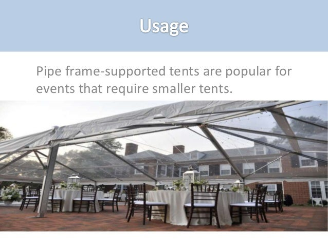 5. Clearspan is a type of tent ... & Types of tents and their uses