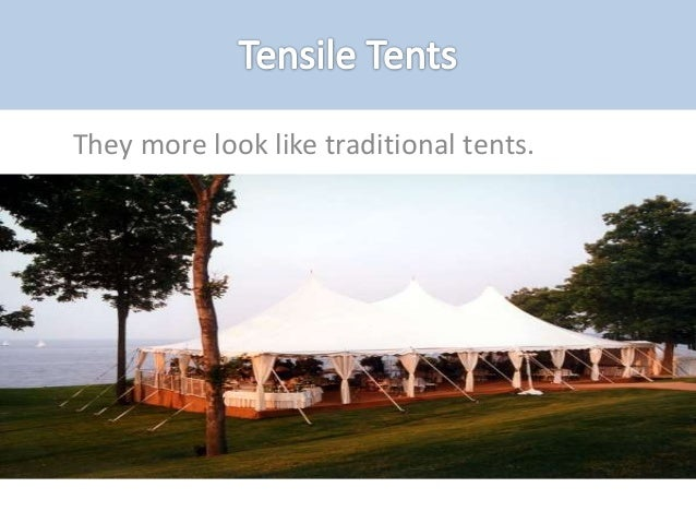 8. There are different tent ... & Types of tents and their uses