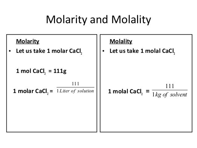 difference between molarity and normality with example