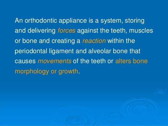Types of tooth movement in orthodontics (4th BDS) Slide 3