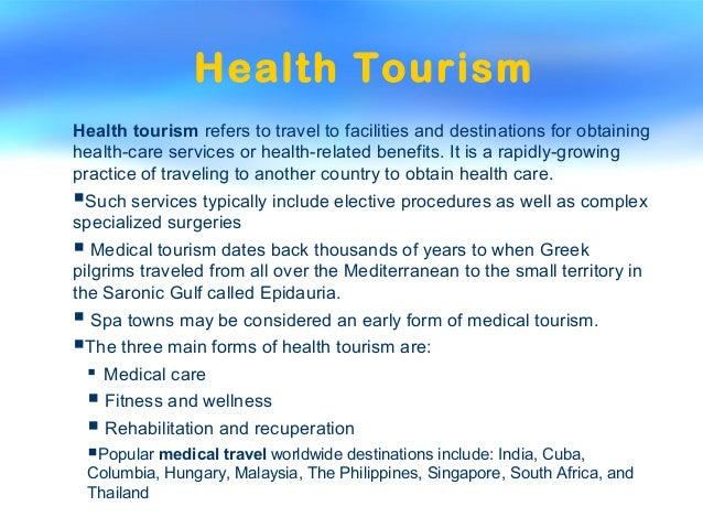 forms of tourism One of the most common forms of sustainable tourism is ecotourism, the term most commonly used to describe any form of holiday or recreation in natural surroundings.