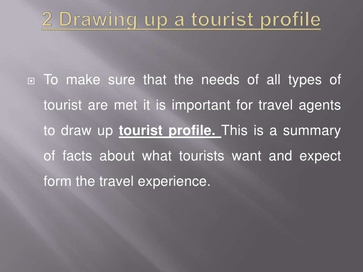 types of tourist 9