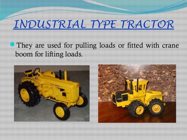 Types Of Tractors Kvg